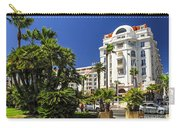 Croisette Promenade In Cannes Carry-all Pouch by Elena Elisseeva