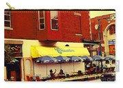 Croissanterie Figaro Parisian Bistro Sidewalk Cafe C Spandau Montreal Premier City Scene Artist Carry-all Pouch