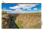 Crooked River Canyon And Bridge Carry-all Pouch
