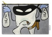 Crooked Tooth Carry-all Pouch by Anthony Falbo