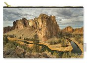 Croooked River Around The Jagged Peaks Carry-all Pouch