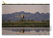 Crop Duster Applying Seed To Rice Field Carry-all Pouch