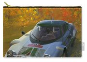 Cropped Stratos Rallye Magazine Cover Art  Carry-all Pouch