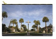 Cross And Palm Trees Mission Santa Clara Carry-all Pouch