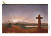Cross At Sunset Carry-all Pouch