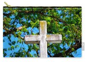 Cross At The Monastery Of The Holy Spirit Carry-all Pouch