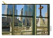 Cross At World Trade Towers Memorial Carry-all Pouch