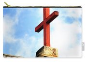Cross Church Roof Carry-all Pouch