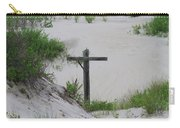 Cross In The Dunes Carry-all Pouch