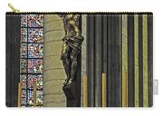 Cross Of Rouen Cathedral Carry-all Pouch