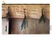 Crossbeam With Herbs Drying Carry-all Pouch