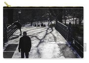 Crossing Over - Central Park - Nyc Carry-all Pouch