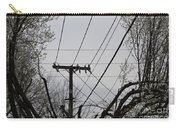 Crossing Power Lines Carry-all Pouch