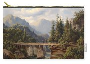 Crossing The River Bridge Carry-all Pouch