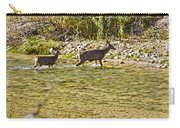 Crossing The River Carry-all Pouch