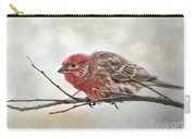 Crouching Finch 5x7 Carry-all Pouch