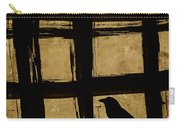 Crow And Golden Light Number 2 Carry-all Pouch by Carol Leigh