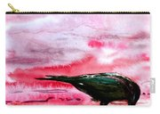 Crow At Dawn Carry-all Pouch
