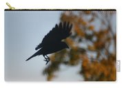 Crow In Flight 1 Carry-all Pouch