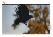 Crow In Flight 2 Carry-all Pouch