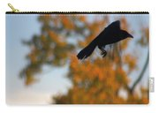 Crow In Flight 3 Carry-all Pouch