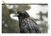 Crow In The Summer Rain Carry-all Pouch