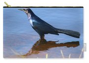 Crow In The Water Carry-all Pouch