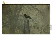 Crow On Spire Carry-all Pouch