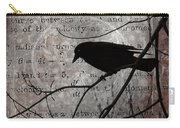 Crow Thoughts Collage Carry-all Pouch