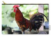 Crowing Red Junglefowl Rooster Carry-all Pouch