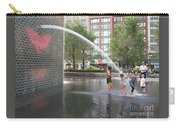 Crown Fountain Play Carry-all Pouch