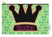 Crown In Pop Art Carry-all Pouch by Tommytechno Sweden
