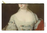 Crown Princess Elisabeth Christine Von Preussen, C.1735 Oil On Canvas Carry-all Pouch