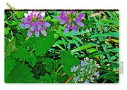 Crown Vetch And Catnip In Pipestone National Monument-minnesota Carry-all Pouch