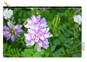 Crown Vetch Wildflowers Carry-all Pouch