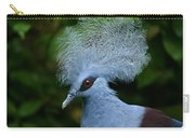 Crowned Pigeon Goura Cristata, Bali Carry-all Pouch