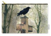 Urban Graveyard Crows Carry-all Pouch