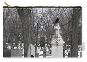 Crows In Gothic Winter Wonderland Carry-all Pouch