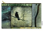 Crows In Nature Collage Carry-all Pouch