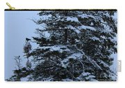 Crows Perch - Snowstorm - Snow - Tree Carry-all Pouch