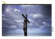 Crucifix In The Light Carry-all Pouch