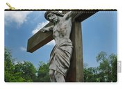 Crucifix Statue St James Cemetery Sewickley Heights Pennsylvania Carry-all Pouch