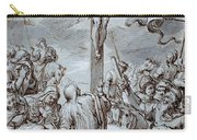 Crucifixion Carry-all Pouch by Johann or Hans von Aachen