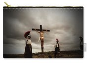 Crucifixion Scene Of Roman Movie Carry-all Pouch