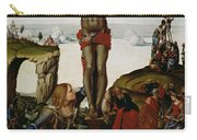 Crucifixion With Mary Magdalene Carry-all Pouch