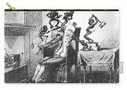 Cruikshank: Headache, 1819 Carry-all Pouch