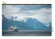 Cruise Ship In The Sognefjord In Norway Carry-all Pouch