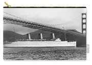 Cruise Ship Under Sf Bridge Carry-all Pouch