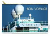 Cruise Ship Ventura's Radar Domes Carry-all Pouch by Terri Waters