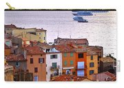 Cruise Ships At St.tropez Carry-all Pouch